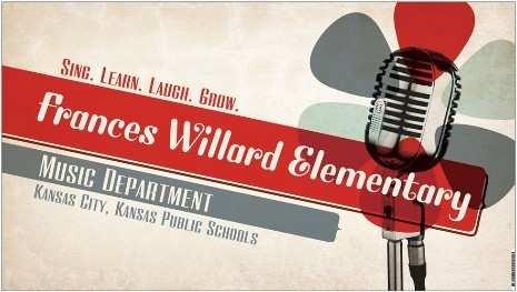 Frances Willard Music Department logo